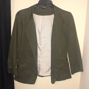 Olive Green Express Blazer Jacket